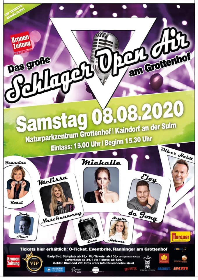 Grottenhof schlager open air